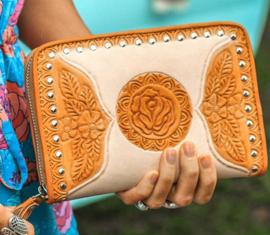 Mahiya Golden Gypsy wallet cream