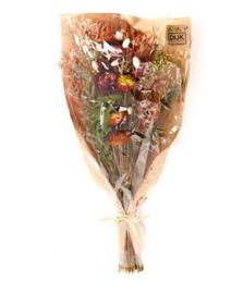 Dried flower bouquet 42-45cm - Orange