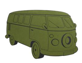 Doormat VAN green