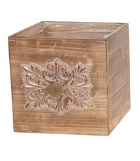 Drawer planter wood medium 15cm