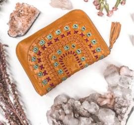 Mahiya Tallara wallet tan