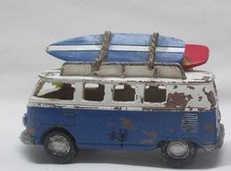 Surfbus T1 met  LED light blauw