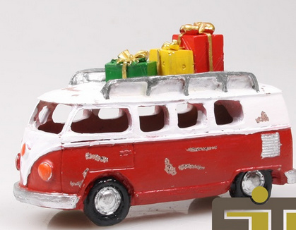 T1 Bus kerst rood LED
