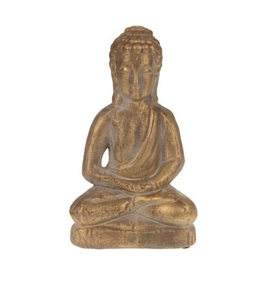 Buddha terra cotta 12x9x21cm - Matt Gold