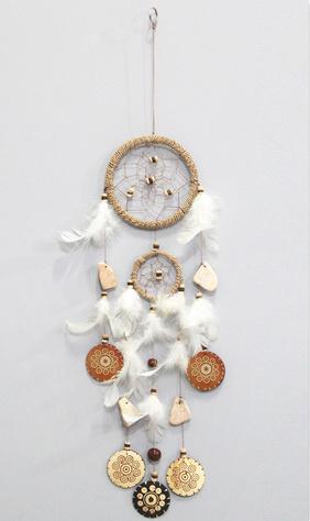 Dreamcatcher rope coconut natural M