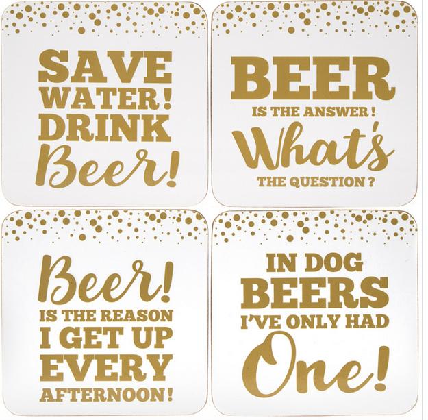 Beer Coaster set