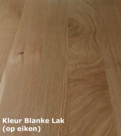 Landelijke Secretaire / Bureau / Home-Office WIT met blank eiken blad 190 cm breed x 227 cm hoog PRIJS OP AANVRAAG