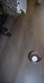 Superdeluxe witte sidetable met 12 laden, eiken blad 220 x 50 x 90 cm hg