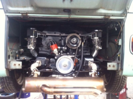 Motor 1776cc met dubbele Delorto's