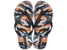 Ipanema classic kids jongens slippers grijs/oranje