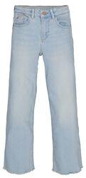 Garcia Girls broek wijde pijpen licht blauw