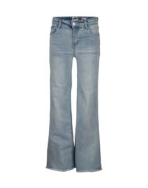 Indian Blue Jeans meisjes spijkerbroek wide lichtblauw