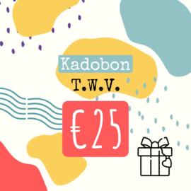 kadobon twv 25 euro