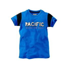 Z8 t-shirt Jetze kobalt blauw