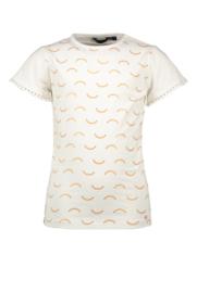 Nono Kathy t-shirt print wit