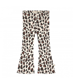 Your Wishes meisjes flared broek panter