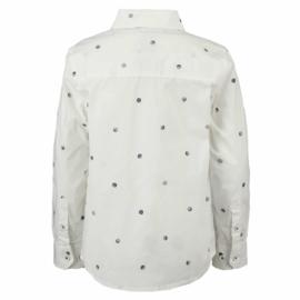 Garcia Boys blouse wit stippen