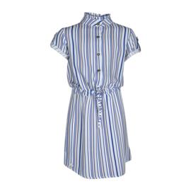 Kiestone jurkje blauw strepen