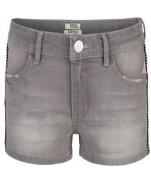 Indian Blue Jeans meisjes korte spijkerbroek grijs