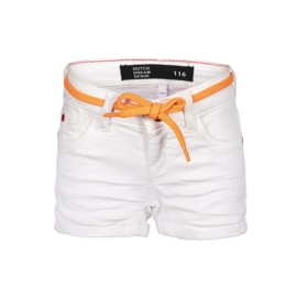 Dutch Dream Denim meisjes Joto shorts wit