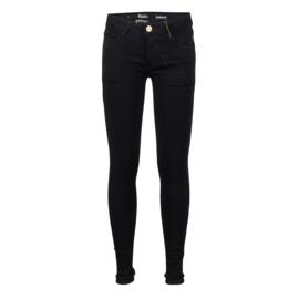 Indian Blue Jeans meisjes skinny fit spijkerbroek zwart