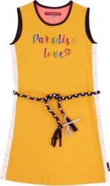 Lovestation22 meisjes jurk Gigi geel