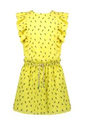 Nono Myrthe jurk groen toekan