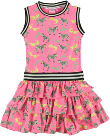 O'chill Jurk Nikki roze print