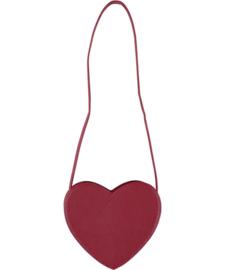 Molo meisjes rood hartje tas
