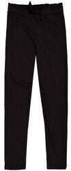 Garcia Girls broek zwart met strik