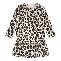 Your Wishes meisjes leopard jurkje