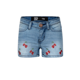 Dutch Dream Denim meisjes alama korte broek blauw