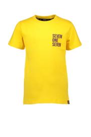 sevenoneseven tshirt geel
