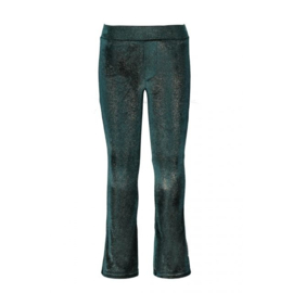 B-nosy Girls velvet flair pants
