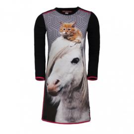 Lovestation22 meisjes jurk 'paard' Nicci