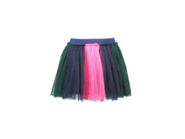 B-nosy Girls mesh rok colored strokes