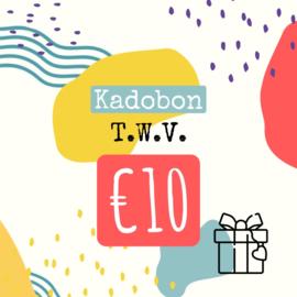 kadobon twv 10 euro