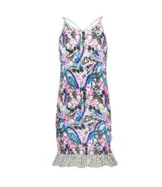 B-nosy meisjes jurkje met roezel vlekken print