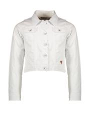 Nono Denim jasje satijn wit