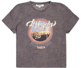 Garcia Girls t-shirt grijs