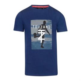 Touzani jongens tshirt donkerblauw