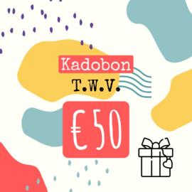 kadobon twv 50 euro