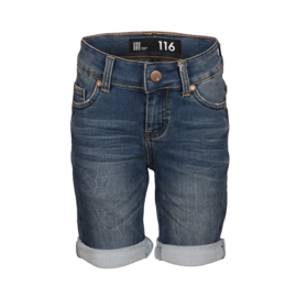 Dutch Dream Denim jongens Gego bermuda donkerblauw