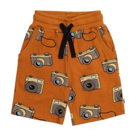 CarlijnQ jongens korte broek camera roest