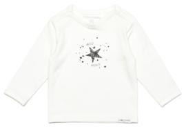 noppies newborn longsleve shirt wit