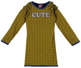 O'chill jurk geel stippen Agnes
