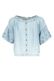 Street called Madison blouse Jamie blauw