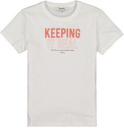Garcia Girls t-shirt off white