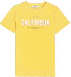 Garcia Girls t-shirt geel