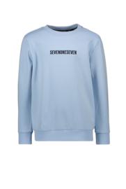 sevenoneseven sweater lichtblauw
